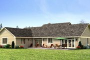 Ranch Style House Plan - 3 Beds 2 Baths 1924 Sq/Ft Plan #427-6 Photo