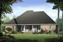 Home Plan - European Exterior - Rear Elevation Plan #21-237