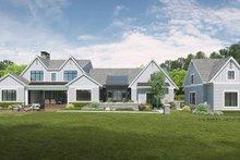 Architectural House Design - Farmhouse Exterior - Rear Elevation Plan #928-340