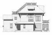 Beach Style House Plan - 4 Beds 3.5 Baths 3470 Sq/Ft Plan #901-124 Exterior - Other Elevation