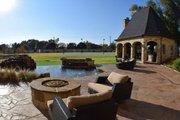European Style House Plan - 6 Beds 6.5 Baths 7236 Sq/Ft Plan #119-169 Exterior - Outdoor Living