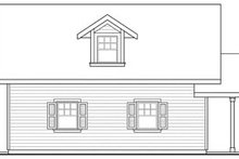 House Plan Design - Craftsman Exterior - Other Elevation Plan #124-660