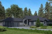 Traditional Style House Plan - 3 Beds 3 Baths 3170 Sq/Ft Plan #1066-85 Exterior - Other Elevation