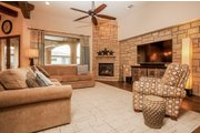 Prairie Style House Plan - 4 Beds 4.5 Baths 3716 Sq/Ft Plan #80-198 Interior - Family Room