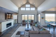 Contemporary Style House Plan - 3 Beds 3.5 Baths 3275 Sq/Ft Plan #892-15 Interior - Family Room