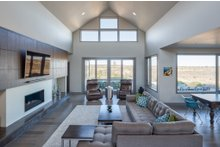 Dream House Plan - Contemporary Interior - Family Room Plan #892-15