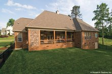 Dream House Plan - European Exterior - Rear Elevation Plan #929-59