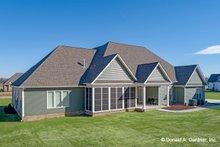 Home Plan - Ranch Exterior - Rear Elevation Plan #929-1050
