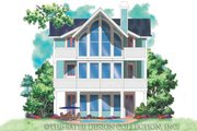 Craftsman Style House Plan - 2 Beds 2.5 Baths 1794 Sq/Ft Plan #930-151 Exterior - Rear Elevation