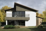 Contemporary Style House Plan - 3 Beds 3 Baths 2256 Sq/Ft Plan #906-16
