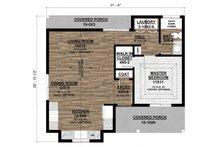Ranch Floor Plan - Main Floor Plan Plan #1077-8
