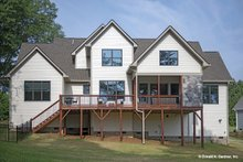 Dream House Plan - Craftsman Exterior - Rear Elevation Plan #929-1051