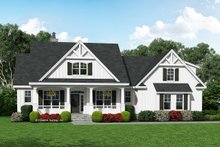 Farmhouse Exterior - Front Elevation Plan #929-1055