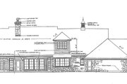 Farmhouse Style House Plan - 3 Beds 2.5 Baths 2540 Sq/Ft Plan #310-259 Exterior - Rear Elevation