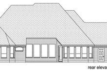 Home Plan - European Exterior - Rear Elevation Plan #84-616