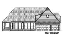 Dream House Plan - European Exterior - Rear Elevation Plan #84-422