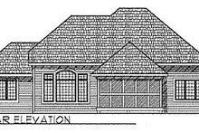 Traditional Exterior - Rear Elevation Plan #70-219