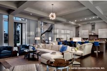 Architectural House Design - Contemporary Interior - Entry Plan #930-513
