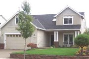 Craftsman Style House Plan - 4 Beds 2.5 Baths 2075 Sq/Ft Plan #130-104 Exterior - Front Elevation