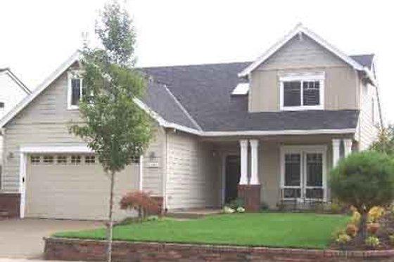 Craftsman Exterior - Front Elevation Plan #130-104