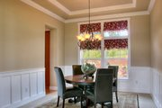 Craftsman Style House Plan - 4 Beds 2.5 Baths 2770 Sq/Ft Plan #132-121 Interior - Dining Room