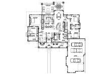 Craftsman Floor Plan - Main Floor Plan Plan #1069-12