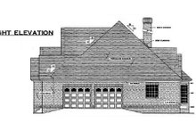 Traditional Exterior - Other Elevation Plan #406-295