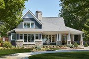 Craftsman Style House Plan - 4 Beds 3.5 Baths 3797 Sq/Ft Plan #928-304 Exterior - Front Elevation