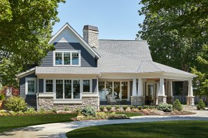 Craftsman Exterior - Front Elevation Plan #928-304