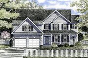 Country Style House Plan - 4 Beds 2.5 Baths 2458 Sq/Ft Plan #316-107 Exterior - Front Elevation
