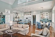Beach Style House Plan - 4 Beds 4.5 Baths 2728 Sq/Ft Plan #443-13 Interior - Other