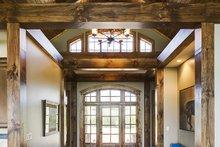 Ranch Interior - Entry Plan #929-655