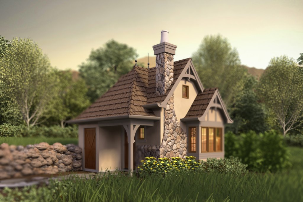 tudor style house plan 1 beds 1 baths 300 sq ft plan 48 641 rh dreamhomesource com tudor cottage house plans tiny tudor cottage plans