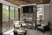 Craftsman Style House Plan - 4 Beds 3 Baths 2491 Sq/Ft Plan #929-949 Exterior - Outdoor Living
