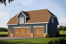Traditional Exterior - Front Elevation Plan #20-2309
