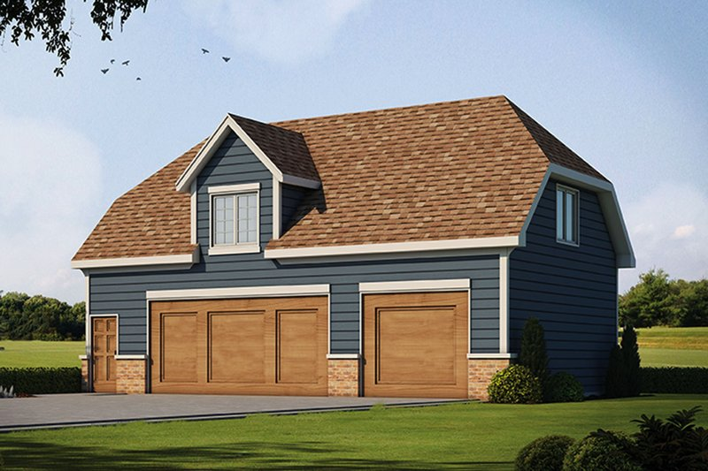 Home Plan - Traditional Exterior - Front Elevation Plan #20-2309