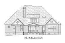 Dream House Plan - Classical Exterior - Rear Elevation Plan #1054-64