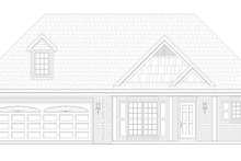 Dream House Plan - Traditional Exterior - Front Elevation Plan #932-143