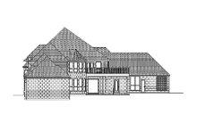 Dream House Plan - European Exterior - Rear Elevation Plan #84-434