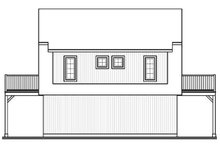 Home Plan - Country Exterior - Rear Elevation Plan #23-441