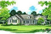 Country Style House Plan - 3 Beds 2 Baths 1937 Sq/Ft Plan #72-122
