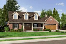 Home Plan - Country Exterior - Front Elevation Plan #46-478
