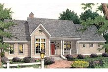 Farmhouse Exterior - Front Elevation Plan #406-271