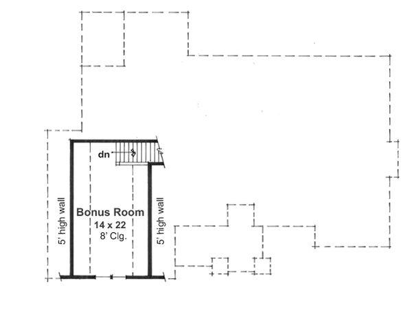 Craftsman Floor Plan - Other Floor Plan Plan #51-517