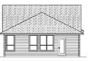 Craftsman Style House Plan - 3 Beds 2 Baths 1163 Sq/Ft Plan #84-285