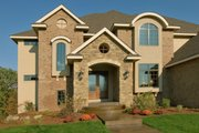 European Style House Plan - 5 Beds 6 Baths 4398 Sq/Ft Plan #56-602 Exterior - Other Elevation