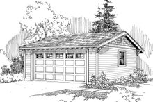 House Plan Design - Traditional Exterior - Front Elevation Plan #124-637