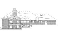 Home Plan - European Exterior - Rear Elevation Plan #5-284