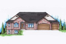Home Plan - Traditional Exterior - Front Elevation Plan #5-269
