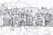 Tudor Style House Plan - 5 Beds 6.5 Baths 7632 Sq/Ft Plan #141-281